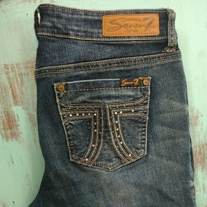 Seven7 Boot cut Jeans size 10